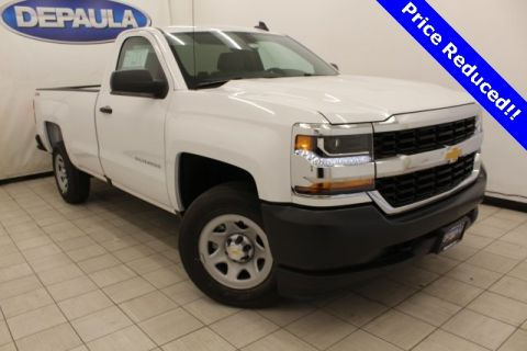 New 2017 Chevrolet Silverado 1500  4WD