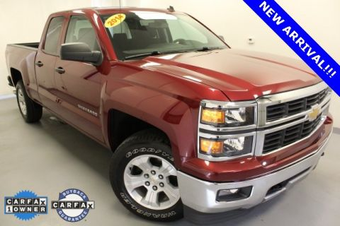 Certified Pre-Owned 2014 Chevrolet Silverado 1500 LT 4WD