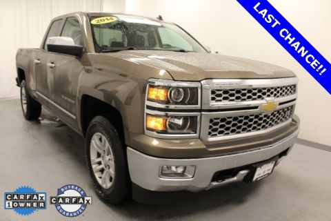 Certified Pre-Owned 2014 Chevrolet Silverado 1500 LTZ 4WD