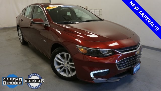 Certified Pre Owned 2016 Chevrolet Malibu 1lt