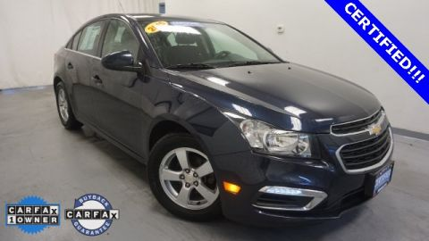 Certified Pre-Owned 2015 Chevrolet Cruze